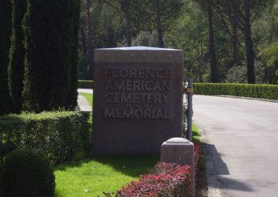 Firenze – American Battle Monuments Commission